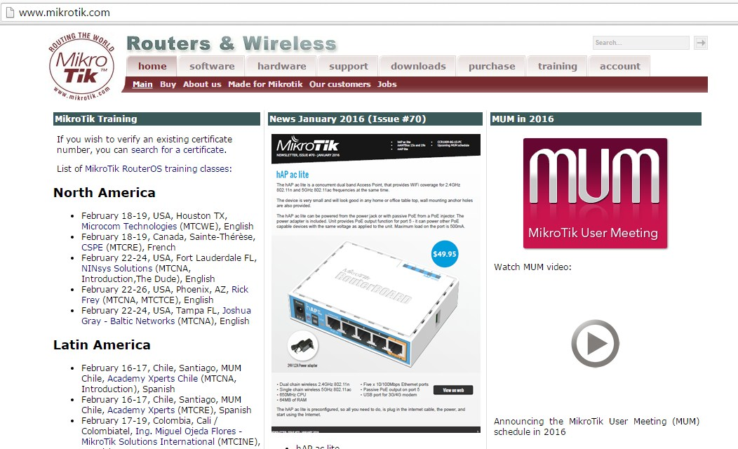 Halaman Mikrotik.com